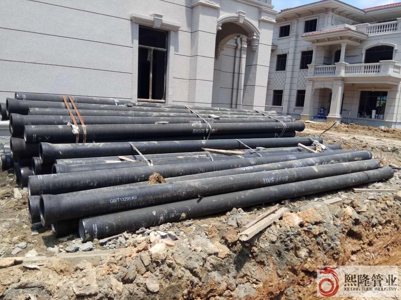 百色碧桂园项目施工采用广西球墨铸铁管——熙隆管业