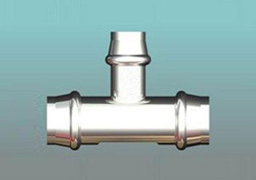 变径三通-薄壁不锈钢管配件