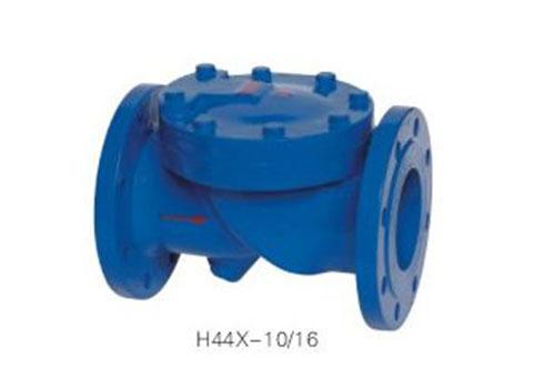 H44X橡胶瓣止回阀
